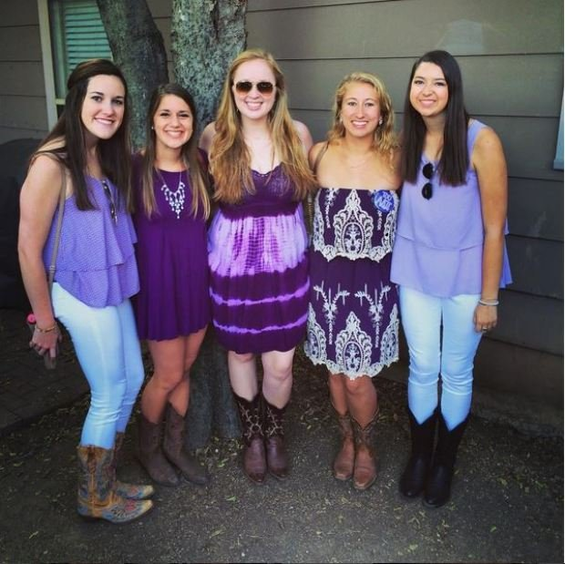 TCU game day fashions