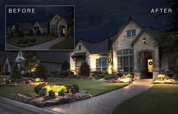 In Ground Led Landscape Lighting Package Giveaway Fort