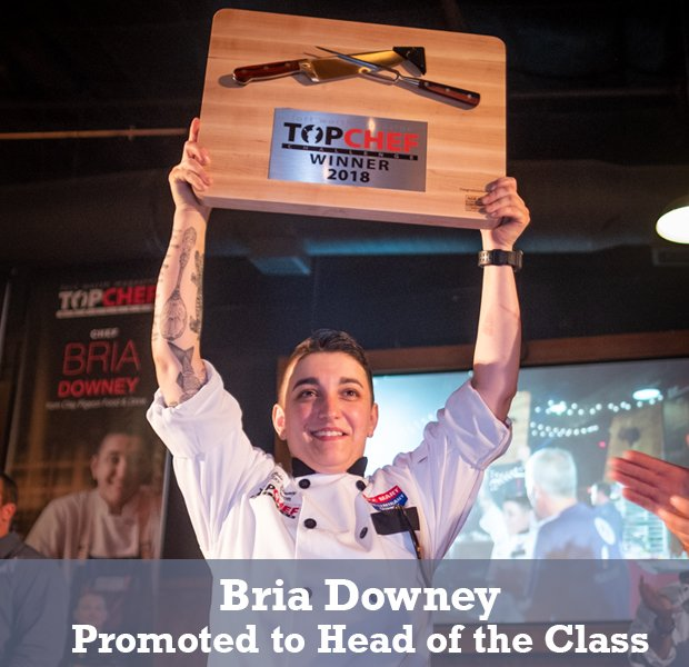 Bria Downey: Promoted to Head of the Class