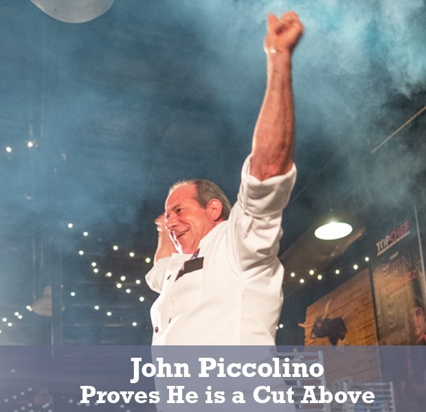 John Piccolino: Proves He is a Cut Above