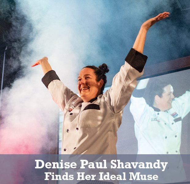 Denise Paul Shavandy: Finds Her Ideal Muse