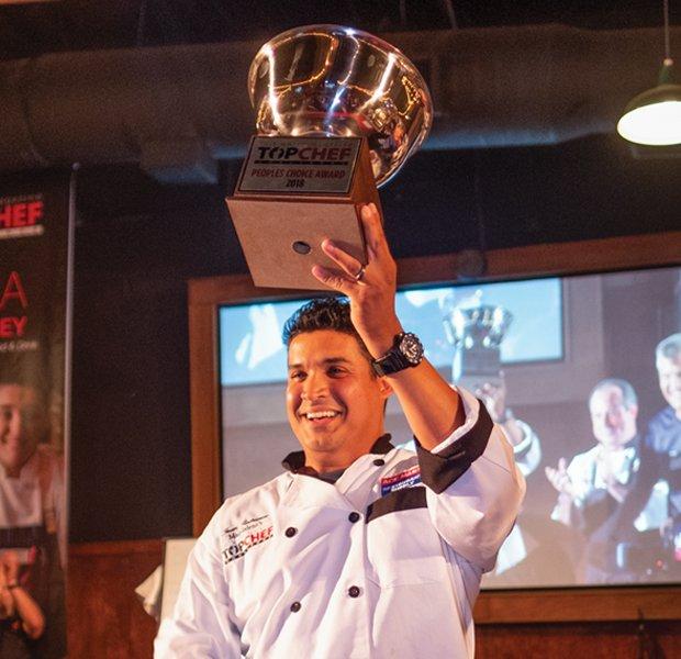 Juan Rodriguez Top Chef People's Choice Award
