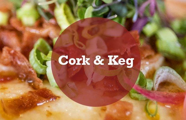 Cork & Keg Header