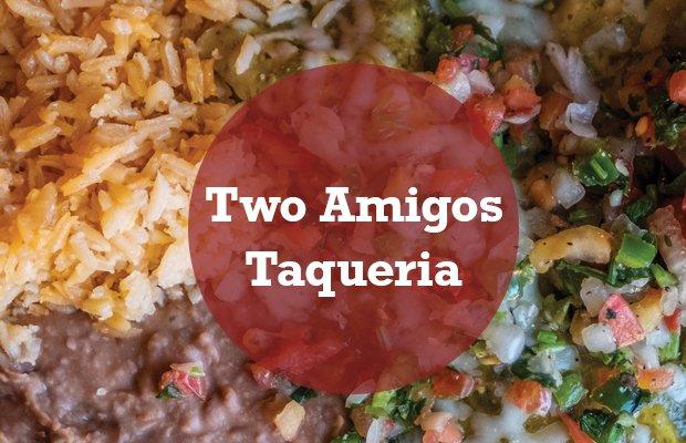 Two amigos Taqueria Header