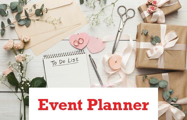 Event Planner Header
