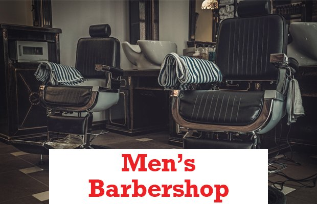 Men's Barbershop Header
