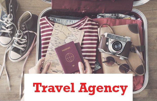 Travel Agency Header