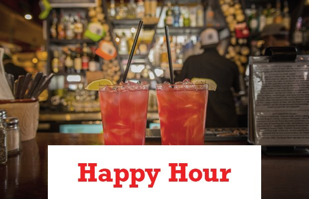 Happy Hour Header