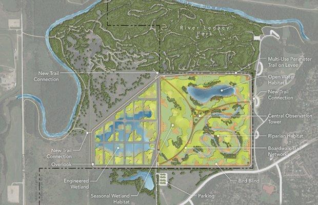 Wetland Habitat Preservation Map