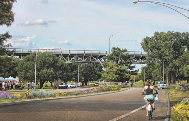 Forest Park Boulevard Enhancements Render