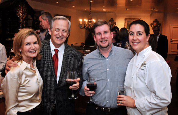 Lu Jo and Mac Churchill with Richard King and Lead Chef Molly McCook.jpg.jpe