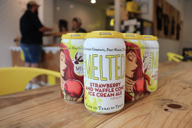 Melted: Strawberry and Waffle Cone Ice Cream Ale