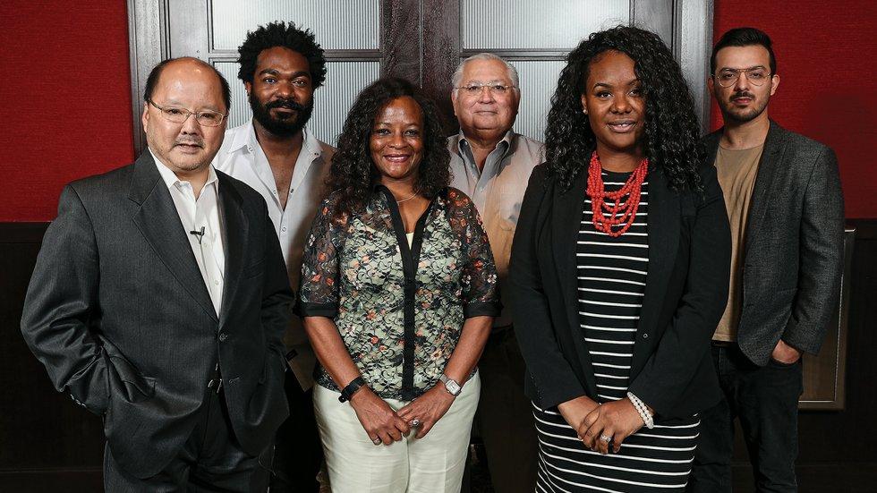 Scott Nishimura, Jonathan Morris, Dr. Marie Holliday, John Avila, Jr., Kia Lane, Eder Teixeira