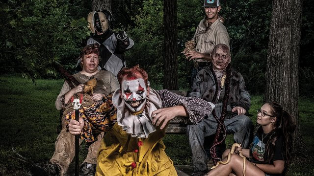 Actors from Hangman's House of Horrors