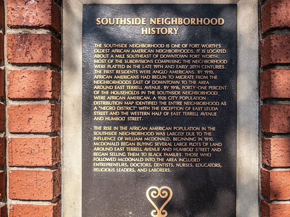 Southside Plaque