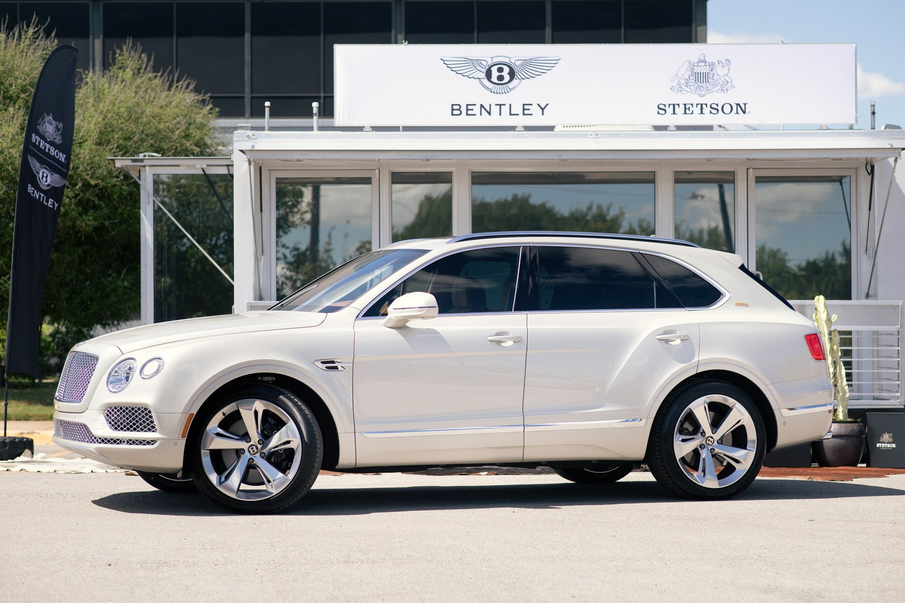 one of three bentley bentayga stetsons in the world arrives at fort worth auto show fort worth magazine one of three bentley bentayga stetsons