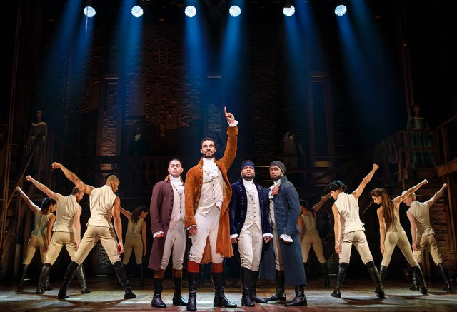Hamilton at the Bass Performance Hall