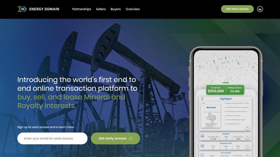 Energy Domain site