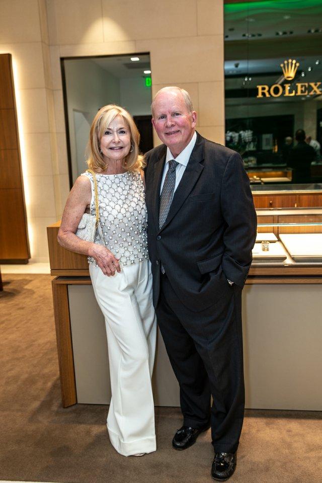 Kathy Sneed, Dr. Robert Hames.jpg