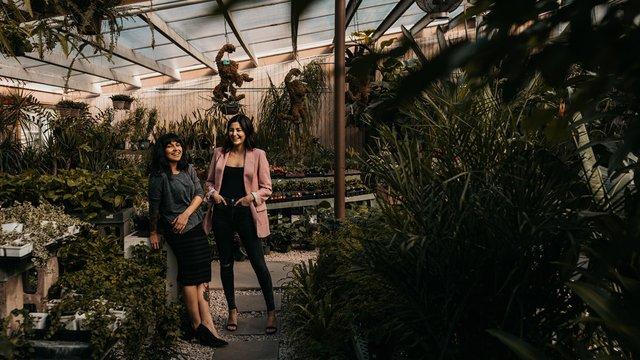 Victoria Esparanza and Shayda Shah-Hosseini of Lazy Daisy Coffee Bar