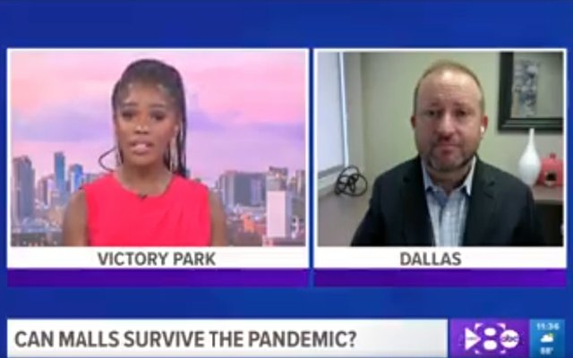 Reed Allmand on WFAA discussing the Pandemic Impact