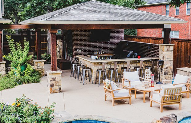 Outdoor Kitchens The Good The Better And The Cost Fort Worth