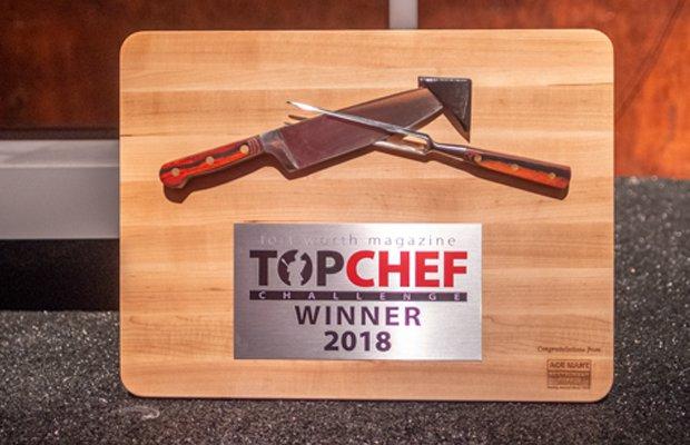 Top Chef Plaque