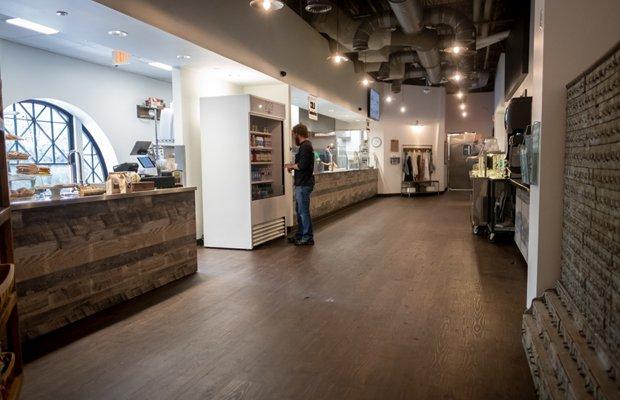 Cafe 203 Interior
