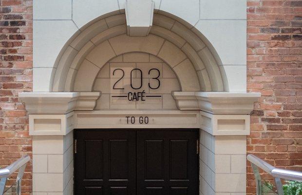 203 Cafe Entrance
