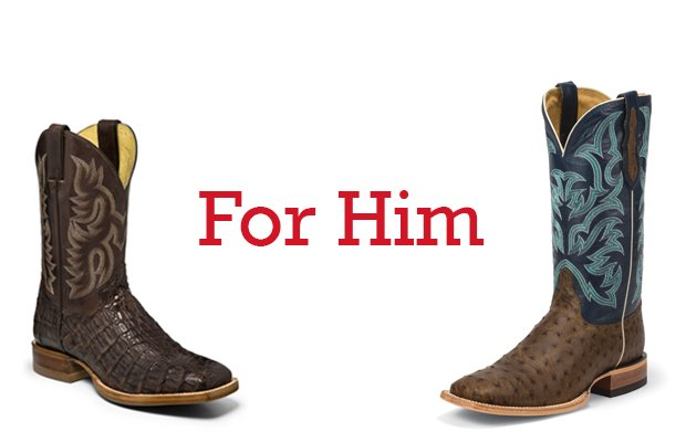 Cowboy Boots for Him