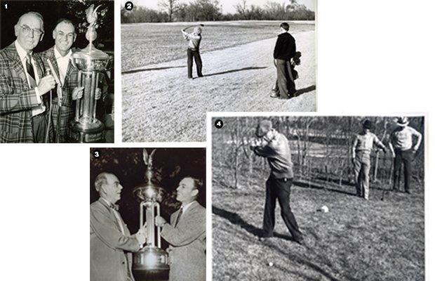Marvin Leonard Golf Collage