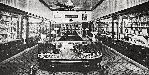 Haltom's Fine Jewelers Interior
