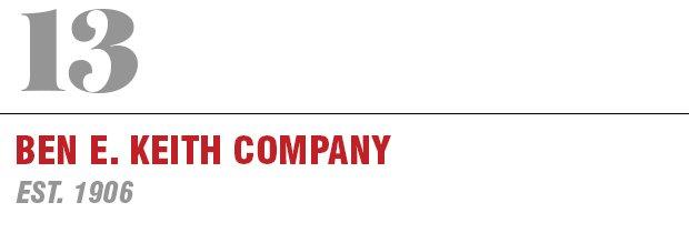 13: Ben E Keith Company