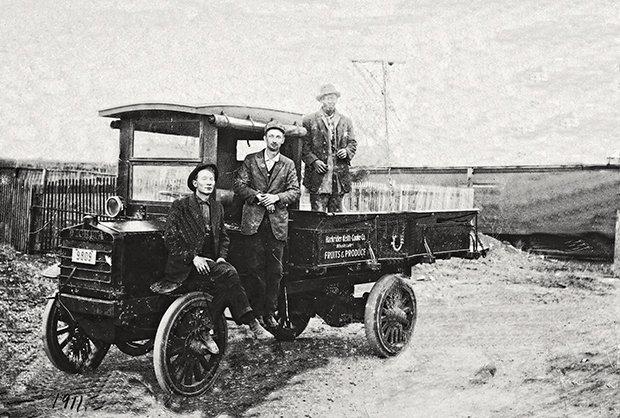 Ben E Keith's First Truck