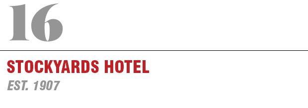 16:Stockyards Hotel
