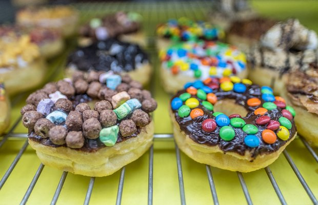 Papa Yun's Donut Display
