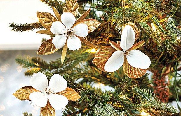 Trillium Ornament Clip