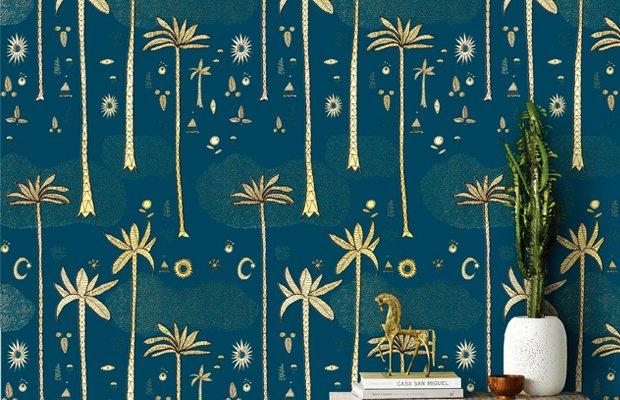 Cosmic Desert Wallpaper