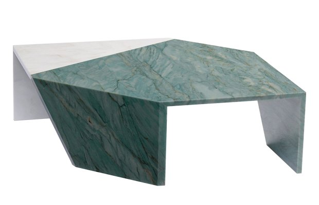 Origami Marble Table