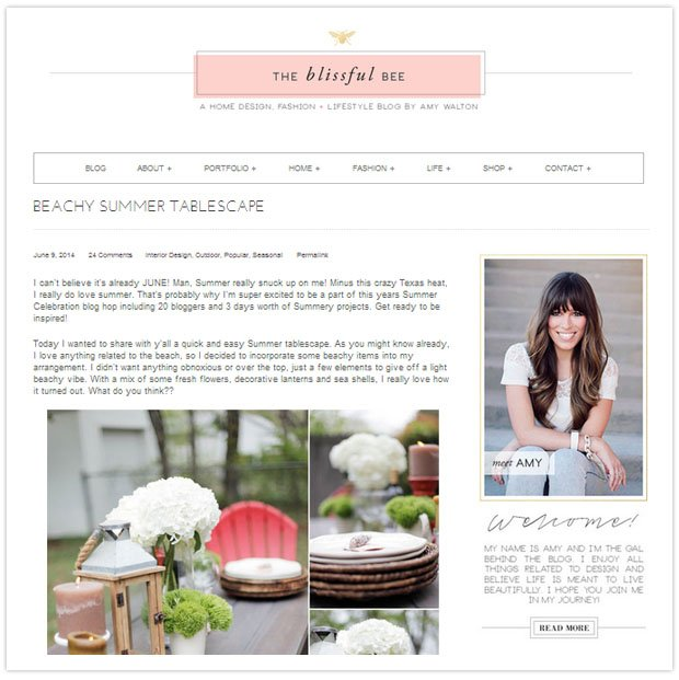 The Blissful Bee Blog